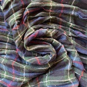 Ralph Lauren Denim & Supply Plaid Flannel Scarf